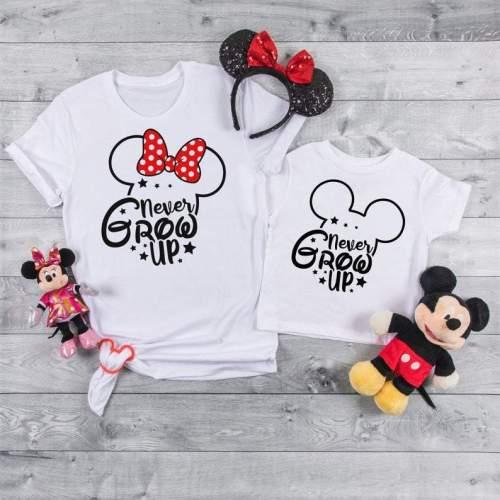 Disney-never grow up shirts,Disney trip 2021 Cute Shirt