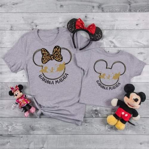 Hakuna Matata Shirts, Animal Kingdom Day, Unisex Disney Tees