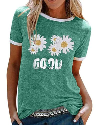 Good Sunflowes T-shirt Tee
