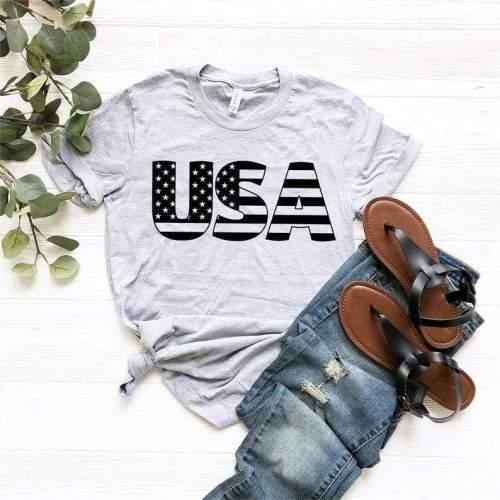 USA Tee, USA Shirt, USA T-shirt, Patriotic Shirt, America 4th of July Shirt