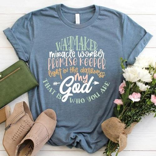 That is who you are my god short-sleeve graphic tees