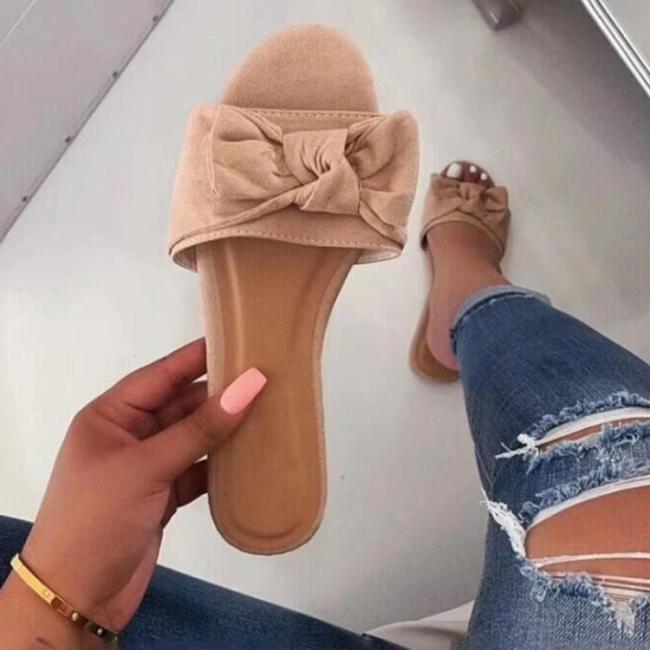Fashion Rhinestones Slip-On Entry Slippers