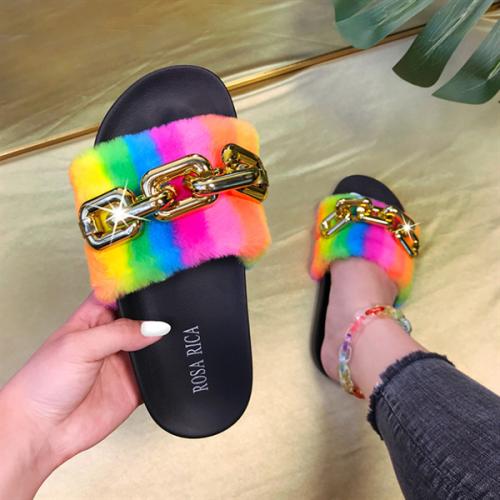 Women's Summer New Rainbow Outdoor Sandals