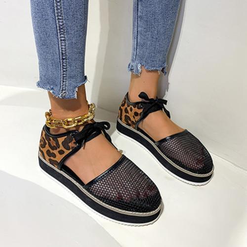 Summer Mesh Wedge Sandals