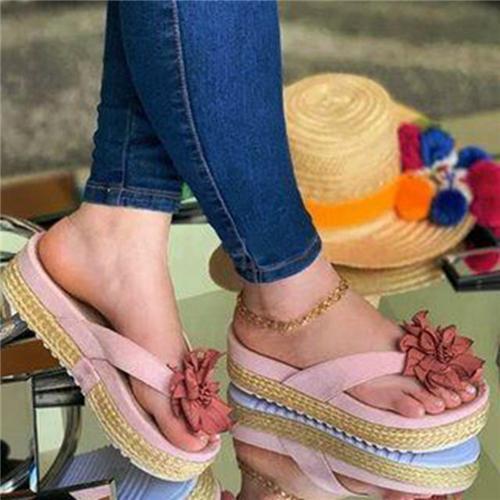 Daily Flower Slippers