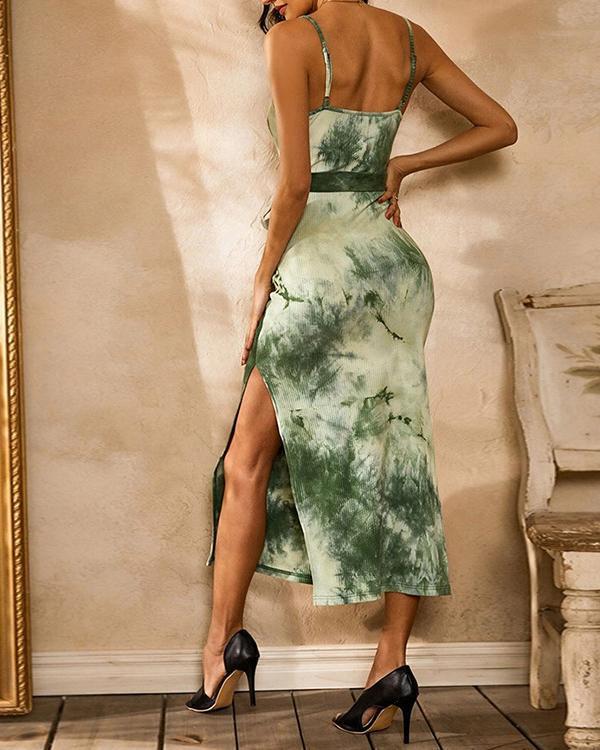 Strapless Tube Top Sexy Waist Sleeveless Dress