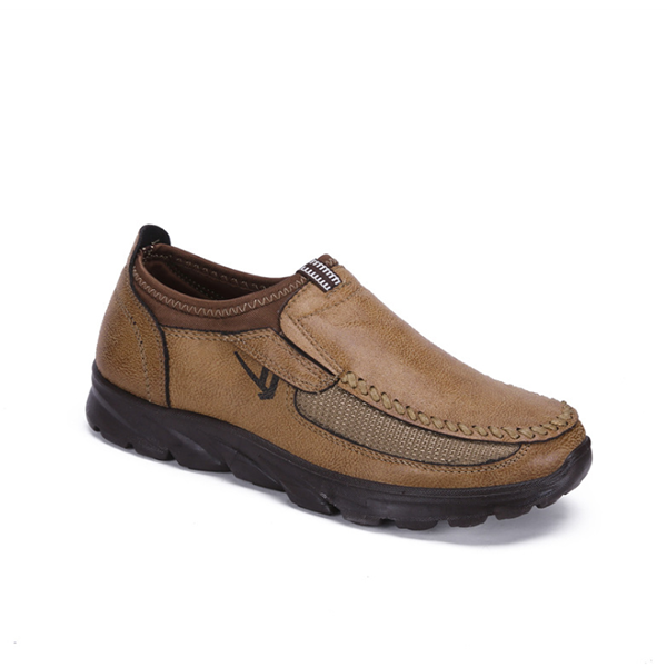 Outdoor Leather Casual Non-slip Wear-Resistant Men's Shoes