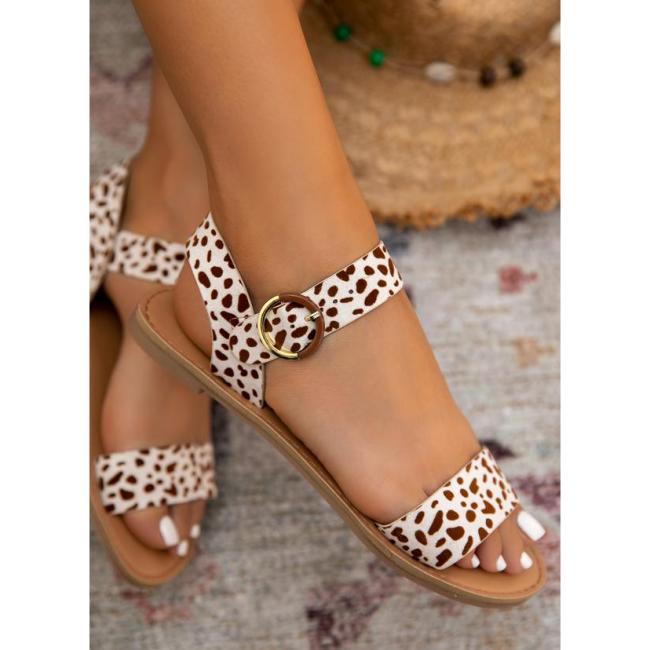 Women Comfy Classic Plaid Summer Sandals