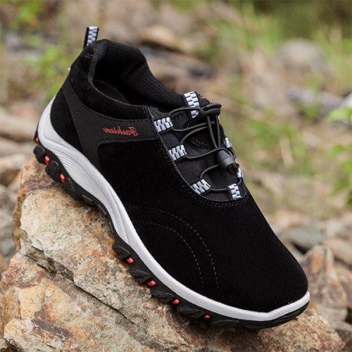 Men's Outdoor Leather Casual Non-slip Wear-Resistant  Shoes