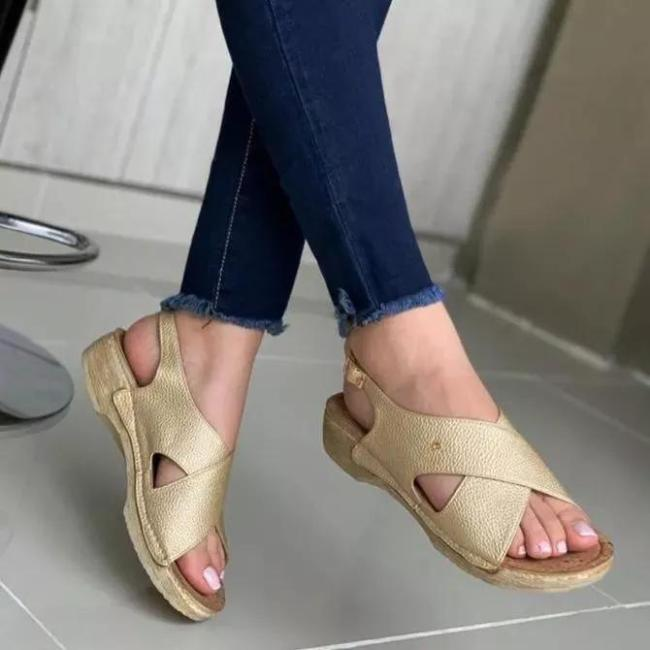 **Women's Leather Sandals