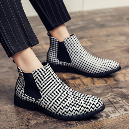 New Chelsea Fashion Short Ankle Boots