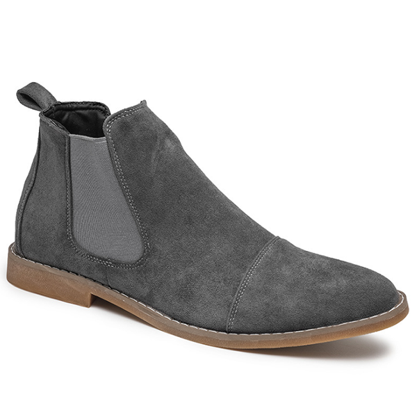 Mens Handmade Suede Formal Boots