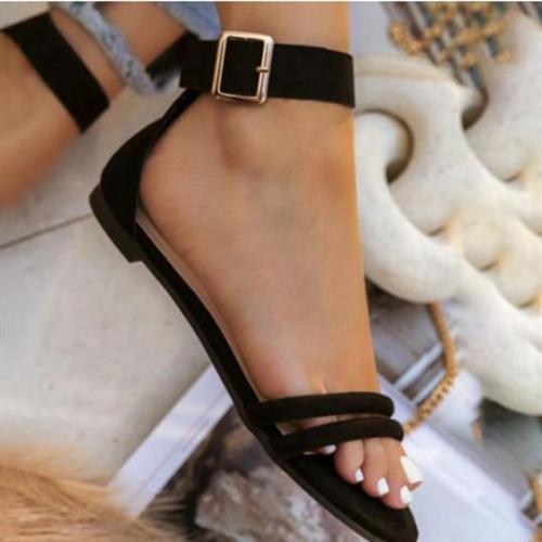 Women's Stylish Simple Hollow Flat Sandals