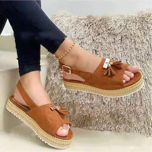 Daily Tassel Sandals