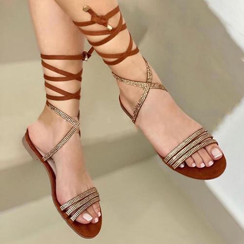 Daily Flat Heel Sandals