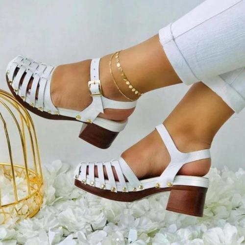 Women's Fashion Retro Handmade Hollow Sandals