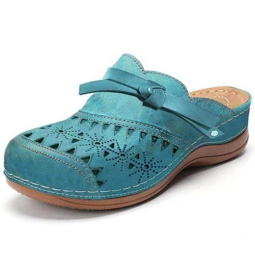Summer Close Toe Hollow Sandals