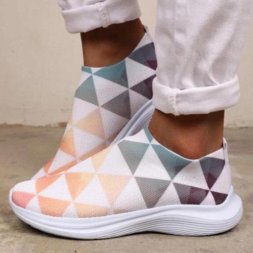 Women's Casual Comfortable Flyknit Sneakers