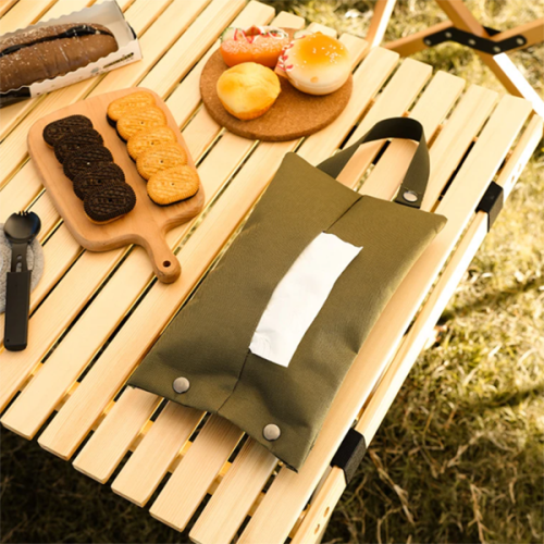Outdoor Camping Portable Tissue Storage Bag