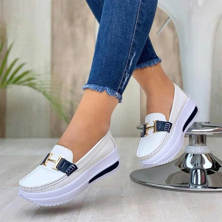 🔥Hot Sale🔥Womens Casual Comfortable Platform Loafers