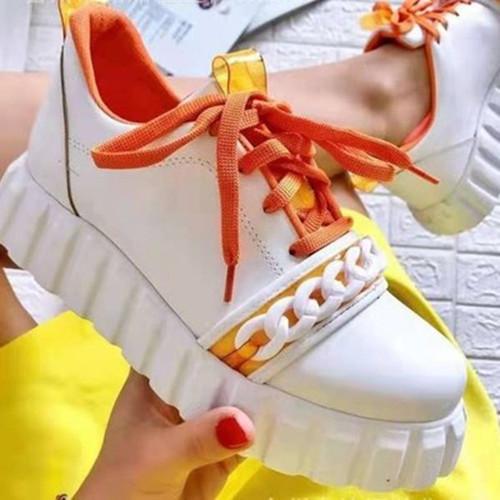 Lacing Platform Sneakers