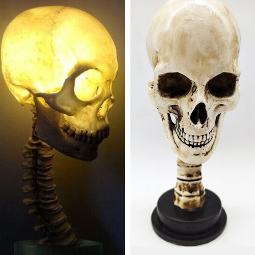 Halloween New Skull Table Lamp