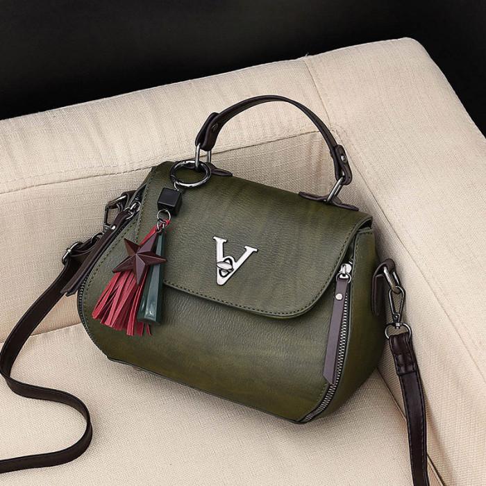 Hot-sale designer Vintage Tassel Bucket Bag Shoulder Bag For Women
