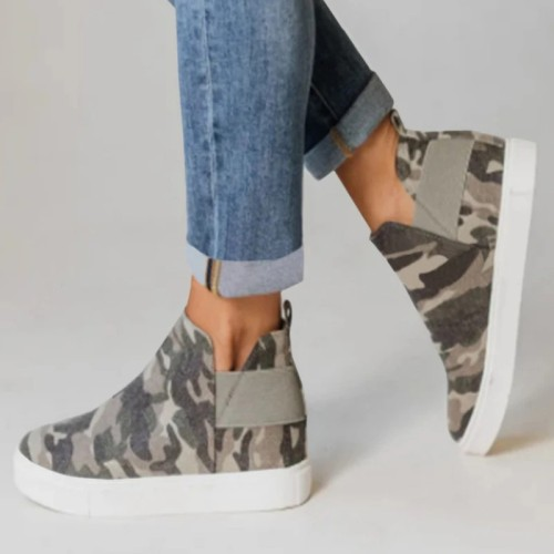 Autumn Canvas Casual Sneakers
