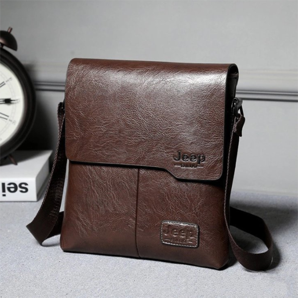 New Men's One-shoulder Cover Business Casual Bag
