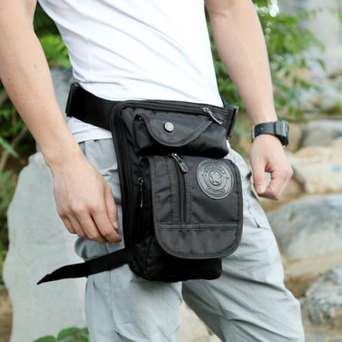 New Trend Men's Waist Bag Outdoor Sports Leg Bag