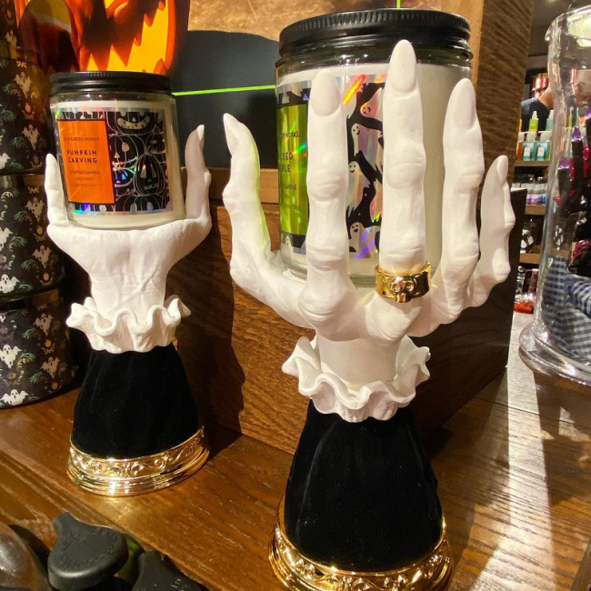 Witch hand candlestick(stock is limited and is about to sell out)