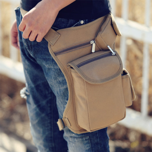 Outdoor Canvas Tactical Multifunctional Leisure Sports Belt Bag