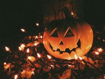 Halloween Talking Animated Pumpkin With Built-In Projector & Speaker