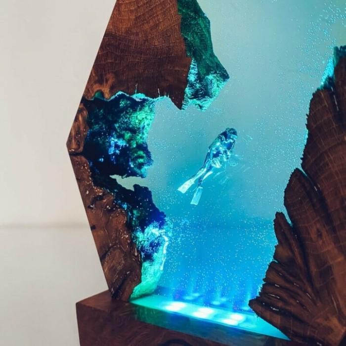 🤿Scuba Diver Lamp - Desk Lamp - Unique Home Decor - Unique Gifts 🔥LAST DAY 50% OFF🔥