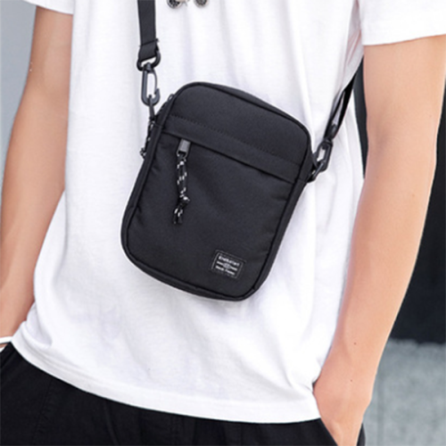 Men's One-shoulder Mini Bag Trendy Lightweight Diagonal Bag