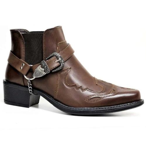 Men's Ankle Denim New Chelsea Men's Boots