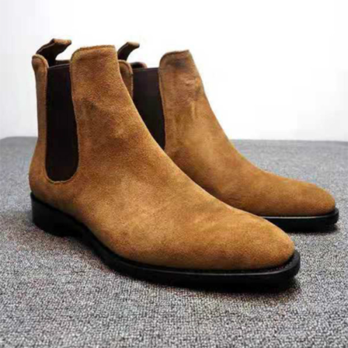 Suede Chelsea Casual Fashion Men's Boots