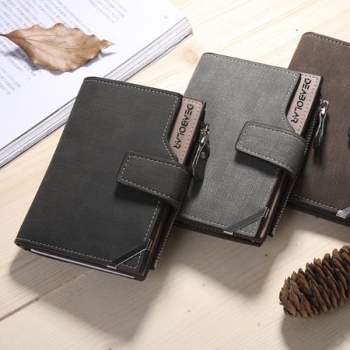 Men's Mid-length Casual Retro Wallet