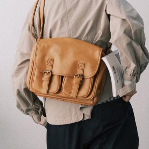 Men's New Trendy All-match Atmospheric Fashion Messenger Bag