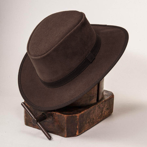 ZEPHYR OUTBACK LEATHER HAT