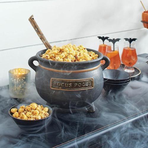 Last Day 50% OFF-Hocus Pocus Serving Cauldron with Ladle