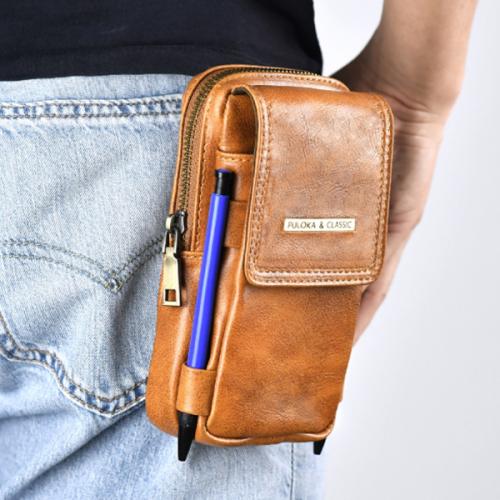 Men's Large-capacity Change Belt Buckle Feature Phone Case