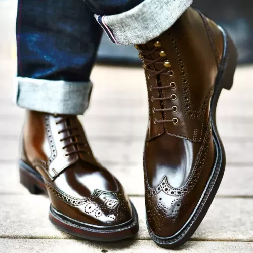 Men's Broch Classic Leather Boots