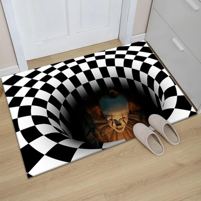 Pennywise Horror Trap Rug