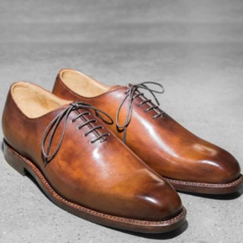 Casual Trendy Lace-up Men's Shoes