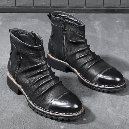 Chelsea Boots Retro High Top Martin Men's Boots
