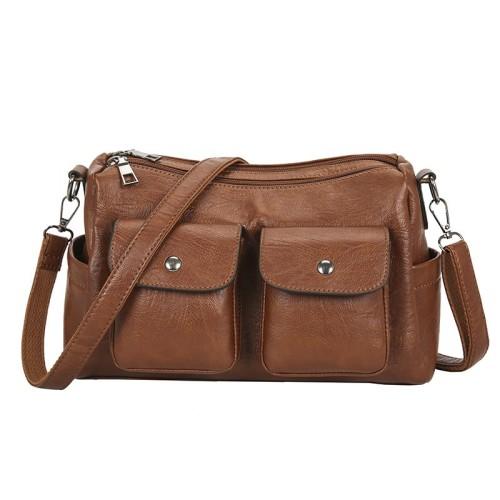 Eartha Vegan Leather Crossbody Bag
