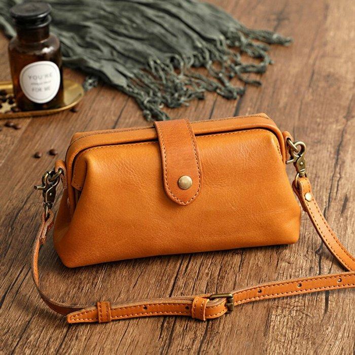Leather Retro Handmade Bag