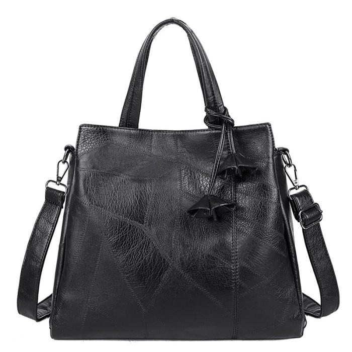 Raizel Vegan Leather Shoulder Bag