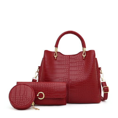 Women's fashion all-match simple picture and mother bag